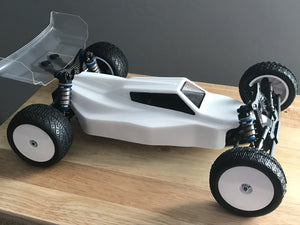 RawSpeed RS-1 - 1/10 Buggy Body - (AE B6.1/B6.1D)