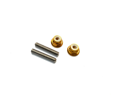 Aluminium Lower Arm Stud Kit with Snap Case