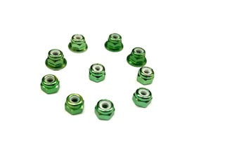 Aluminium Nut Kit (10)