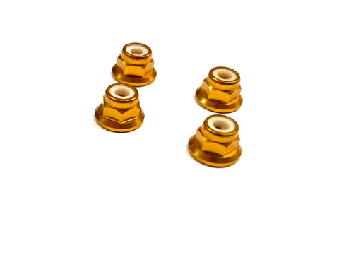 M3 Aluminium Shock Tower Lock Nuts (4)