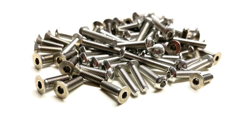 Full Stainless Steel Screw Kit for Team Associated B6.1/B6.2