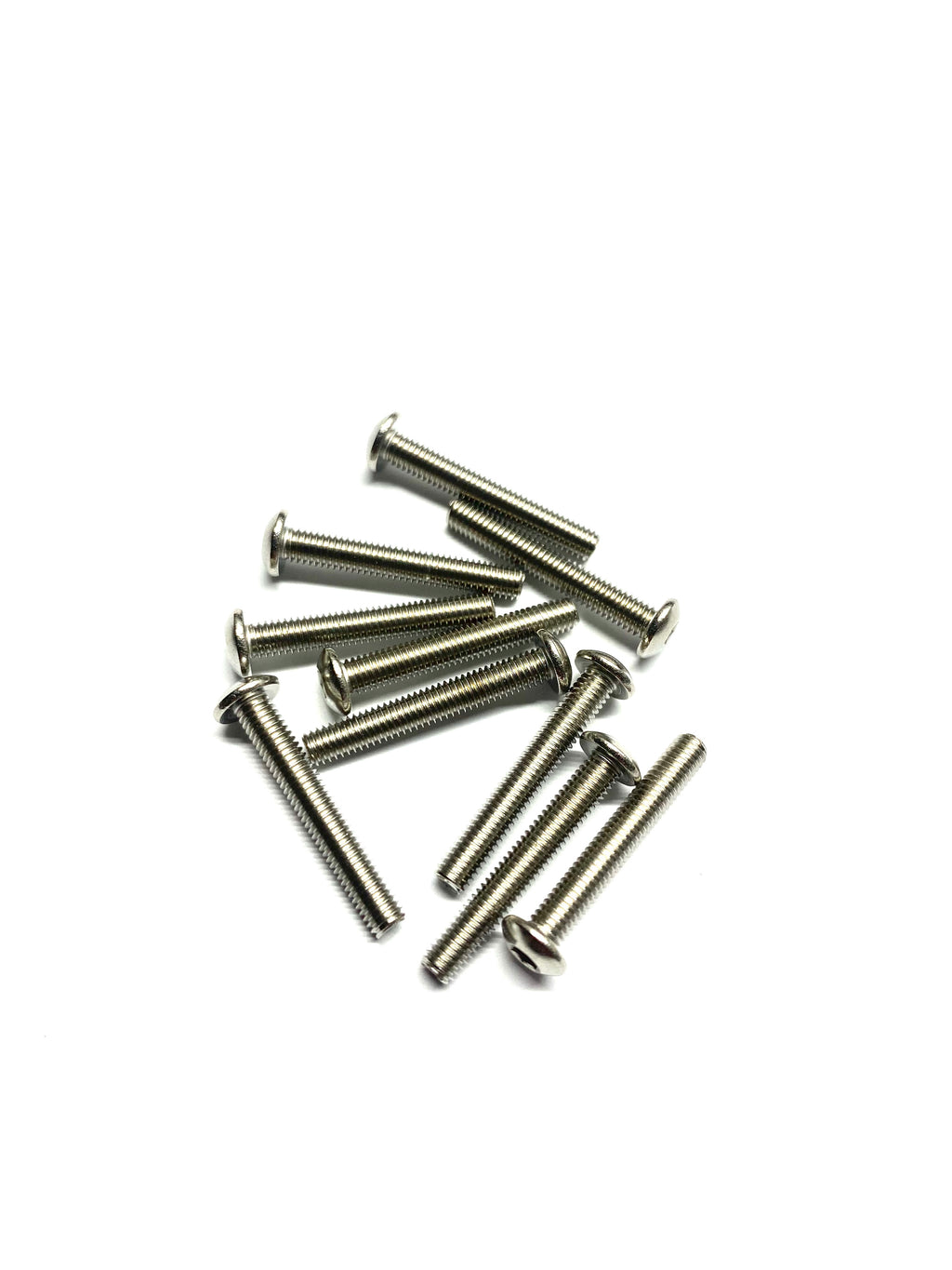 Stainless Steel Screws Button Head 10pc