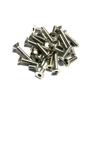 Stainless Steel Screw bottom Kit for the X-Ray XB2D 2020