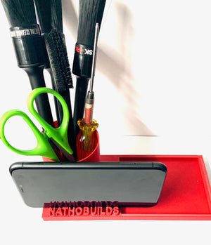 NathoBuilds Parts Tray with Accessories Holder