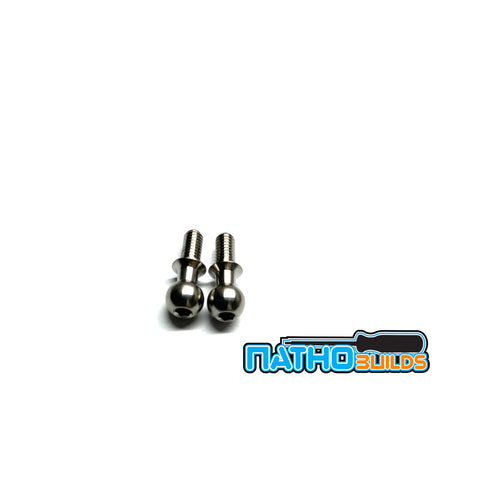 5.5mm Broached Titanium Ball Studs