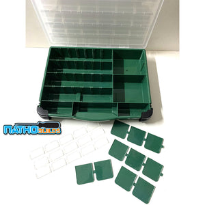 NathoBuilds Double Cover Parts & Tools Organiser