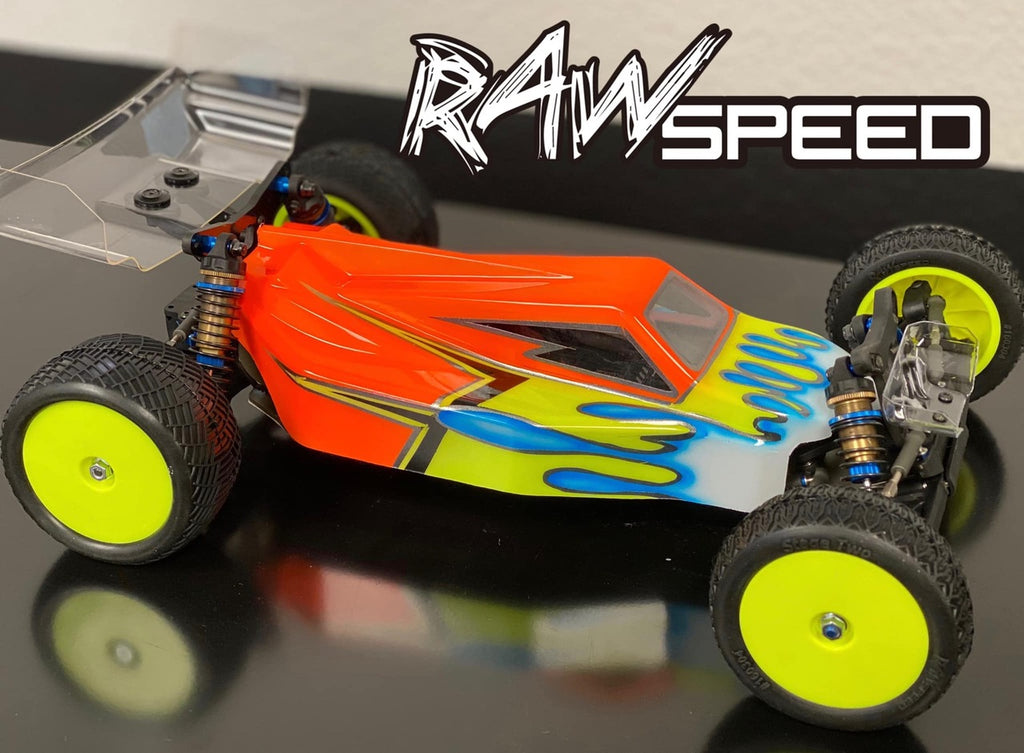 Raw Speed RS-2 - 1/10 Buggy Body - (AE B6.2/B6.2D)