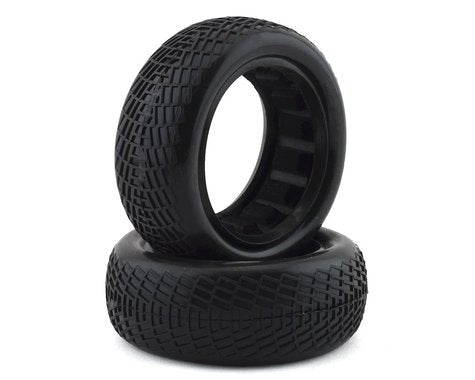 "Raw Speed Radar - 2WD Front Buggy Tyres w/Inserts 2.2"" (1 pr)"