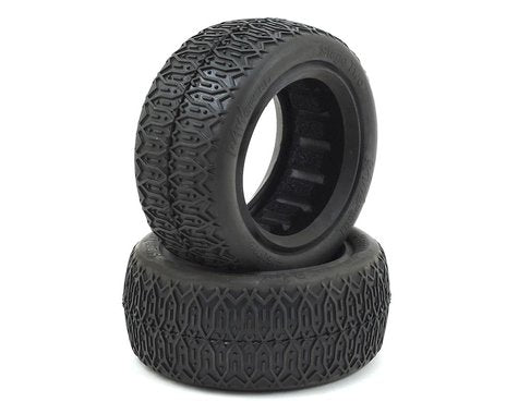 Raw Speed RC Stage Two Front 4WD Buggy Tyres (2)