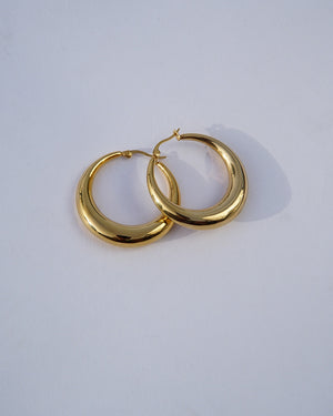Open image in slideshow, Zoe Chunky Hoops