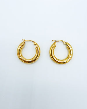 Open image in slideshow, Hailey Mini Hoops