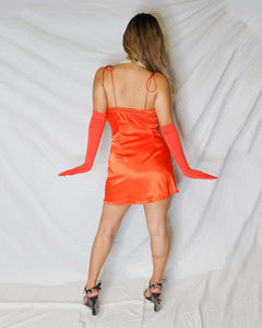 The Val Mini Slip Dress