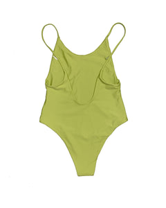 Lime One-Piece Swimsuit