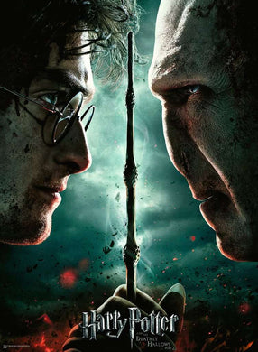 Harry Potter -  Harry vs Voldemort Puslespil - 1000 brikker