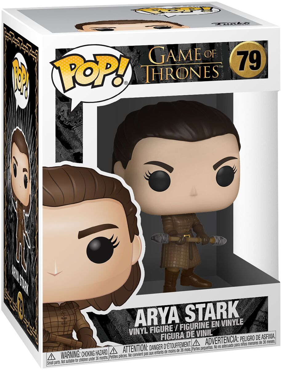 Game of Thrones POP! Television Vinyl Figure Arya w/Two Headed Spear 9 cm