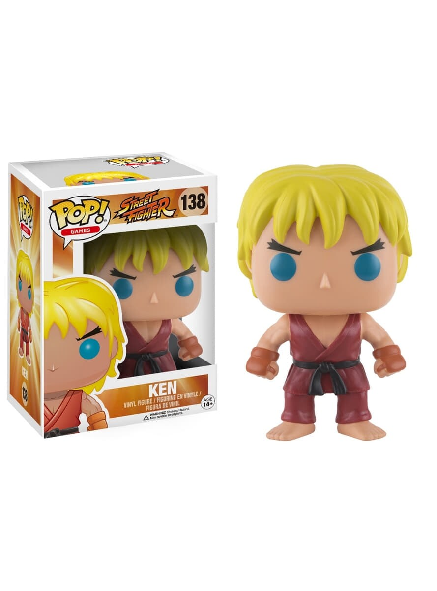 Street Fighter - Pop! Ken