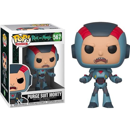 Rick and Morty POP! Animation Vinyl Figure Purge Suit Morty 9 cm