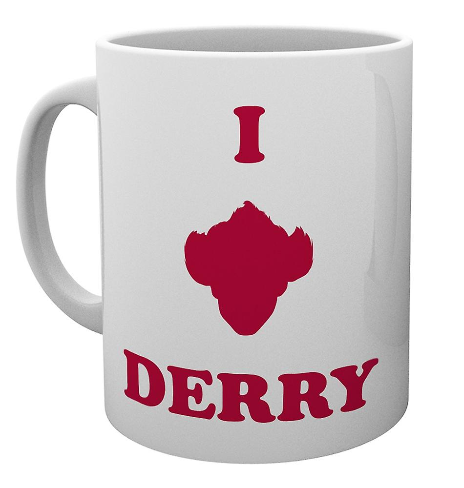 IT - I Love Derry - krus 1 stk