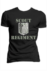 Attack On Titan T-shirt Shout Regiment