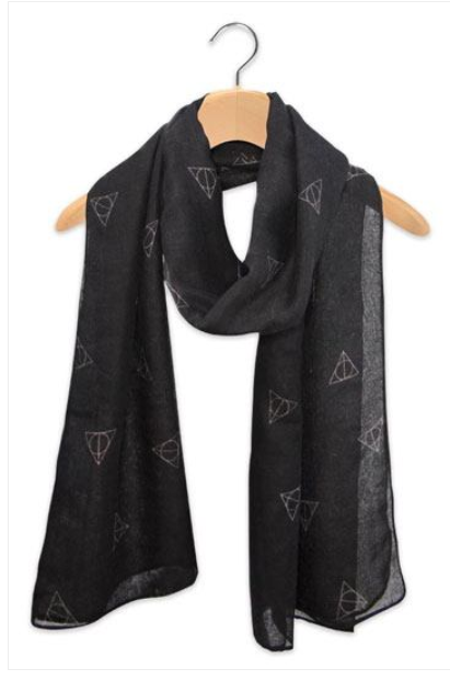 Harry Potter - letvægts halstørklæde / scarf - Dark arts