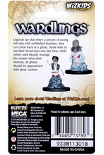 Indlæs billede til gallerivisning WizKids Wardlings Miniatures Ghost (Male & Female) -2 stk (malet)