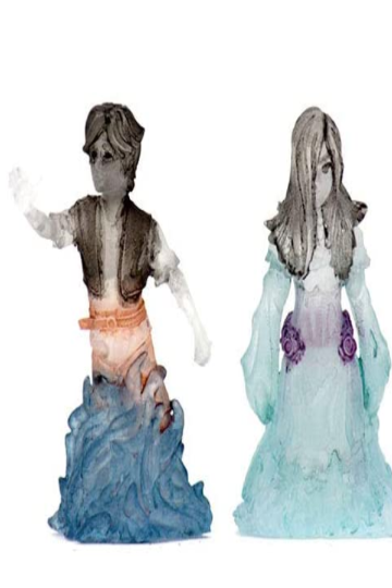 WizKids Wardlings Miniatures Ghost (Male & Female) -2 stk (malet)