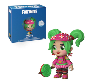 Fortnite - 5 Star Action Figure Zoey 10 cm