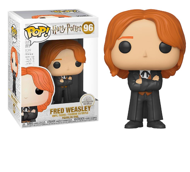 Harry Potter - POP! Movies Vinyl Figure Fred Weasley (Yule) 9 cm