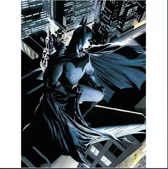 Batman (Alex Ross) glas plakat Batman på 30 x 40 cm