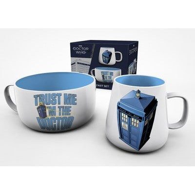 Doctor Who - Breakfast Set Tartis