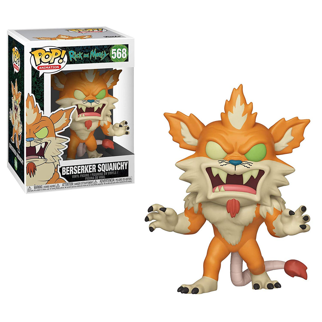 Rick and Morty - Berserker Squanchy- Pop!