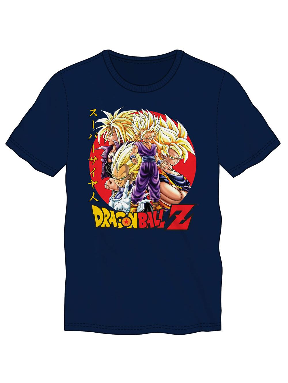 T-shirt Dragon Ball Z Super Saiyans T-shirt