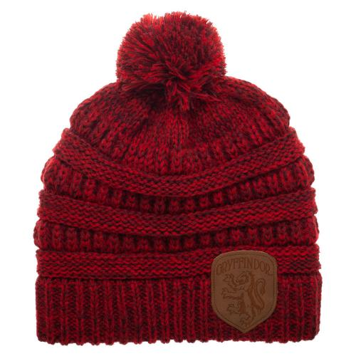 Harry Potter strikket Beanie (Gryffindor)