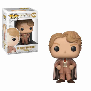 Harry Potter - POP! Movies Vinyl Figure Gilderoy Lockhart 9 cm