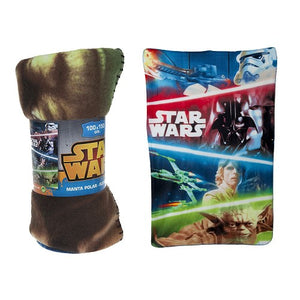 Star Wars - Characters Fleece Tæppe 100x150 cm
