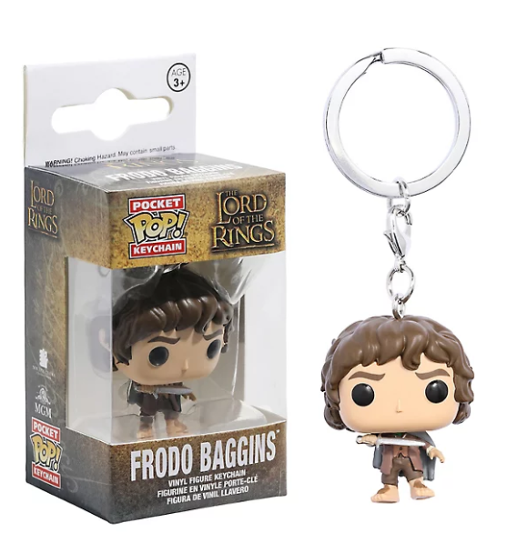 Lord of the rings - Pop! Nøglering Frodo Baggins 4 Cm