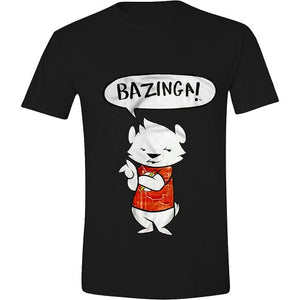 T-shirt THE BIG BANG THEORY - BAZINGA!  Sort