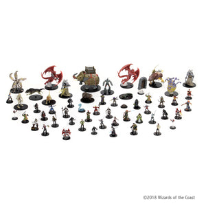 D&D - Icons of the Realms: Waterdeep Dragon Heist Booster (4 figur - malet)
