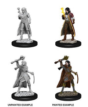 Load image into Gallery viewer, D&D Nolzur's Marvelous Unpainted Miniatures: Female Elf Cleric ( 2 stk)
