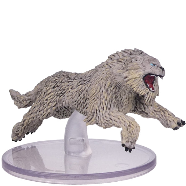 Dungeons And Dragons - Miniatures -Crag Cat ( Icewind Dale: Rime of the Frostmaiden)