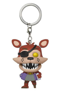 Five Nights at Freddy's POP! Nøglering Rockstar Foxy 4 cm