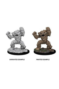 D&D Nolzur's Marvelous Miniatures Earth Elemental (Ikke malet) (1 stk)