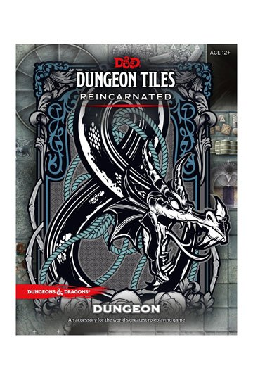 Dungeons & Dragons RPG Dungeon Tiles Reincarnated: Dungeon