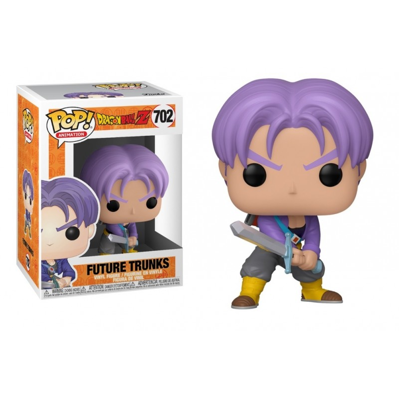 Dragon Ball Z - POP! Animation Vinyl Figure Future Trunks 9 cm
