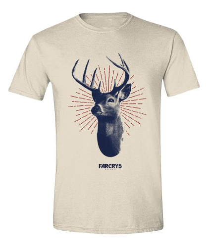 T-shirt Far Cry 5 - Deer style