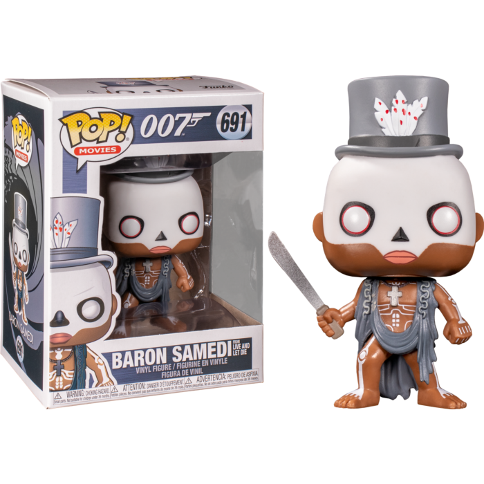 James Bond 007 POP! Movies Vinyl Figure Baron Samedi 9 cm