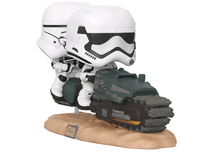 Star Wars Bobblehead First Order Tread Speeder Pop!