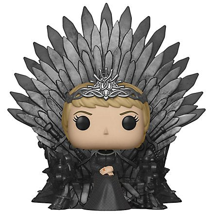 Game of Thrones POP! Deluxe Vinyl Figure Cersei Lannister on Iron Throne 15 cm