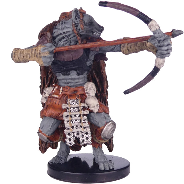 Dungeons And Dragons - Miniatures - Gnoll Hunter #24a ( Icewind Dale: Rime of the Frostmaiden)