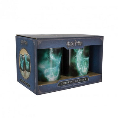 Harry Potter  -Patronus Drinking Glas 2 stk